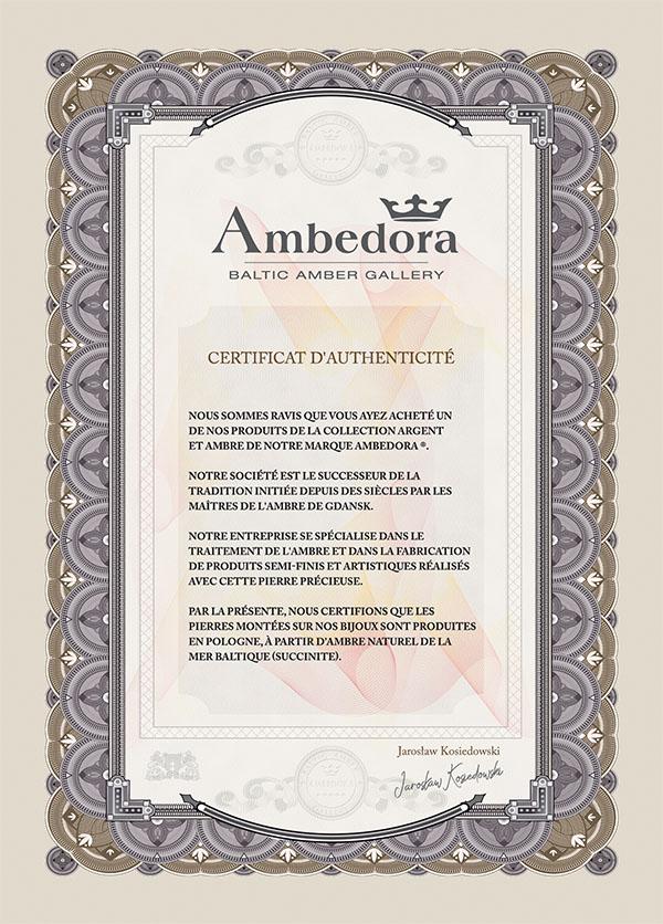 Certyfikat francuski